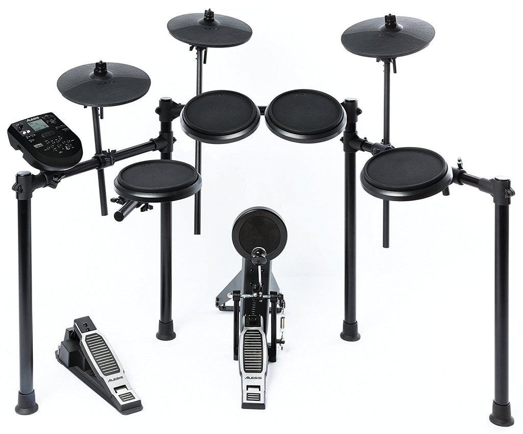 "Alesis Nitro Kit | Electronic Drum Set with 8"" Snare, 8"" Toms, and 10"" Cymbals - Audioride"
