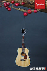 Axe Heaven Fender PD-1 Dreadnaught Acoustic – 6″ Holiday Ornament - Audioride