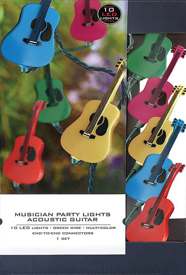 Axe Heaven Musician Party Lights – Acoustic Guitar Edition