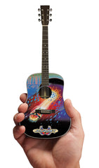 Axe Heaven Miniature Guitar Replica Collectible Journey Escape Album Acoustic Model - Audioride