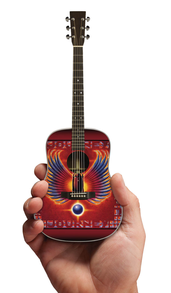 Axe Heaven Miniature Guitar Replica Collectible 	 Journey Tribute Acoustic Model - Audioride