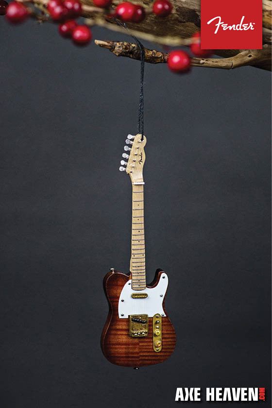 Axe Heaven Fender Select Telecaster – 6″ Holiday Ornament - Audioride