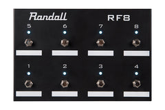 Randall RF8 8 button MIDI Footswitch