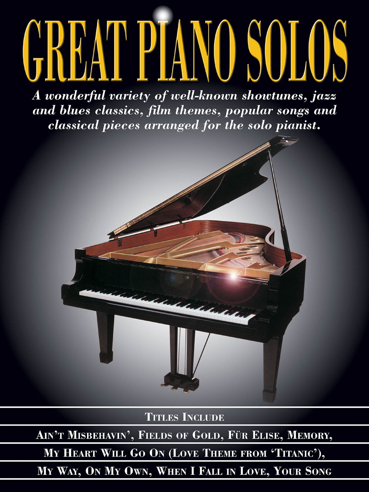 NORTH AMERICAN JV Showtunes, Jazz & Blues, Film Themes, Pop Songs &  Classical Great Piano Solos