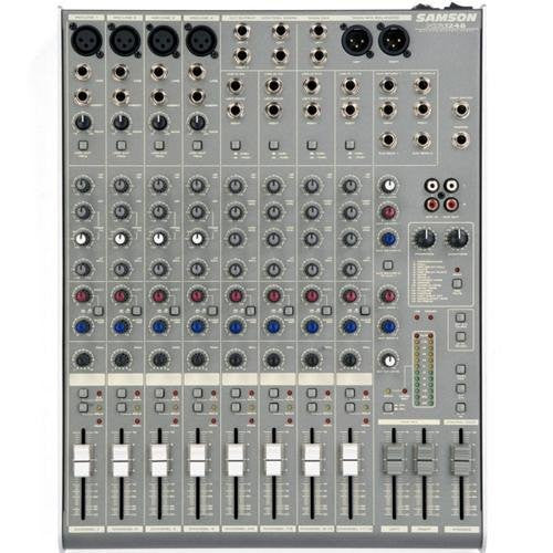 Samson MDR1248 12-Channel, 4-Bus Mixer with DSP