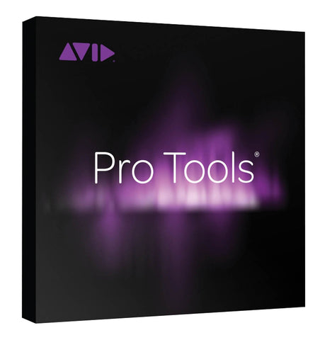 Avid Pro-Tools W/Annual Upgrade and Support Plan (Card+iLok) 1-Year Perpetual License -Channel Multitrack Recording Software