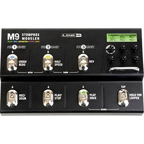 Line 6 M9 Stompbox Modeler Guitar Multi Effects Pedal