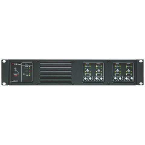 Ashly NE8250.70 Network Enabled 8-Channel Amplifier for 70V Systems