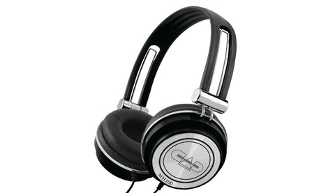 CAD Audio MH100 Closed-Back Studio Headphones (Black)