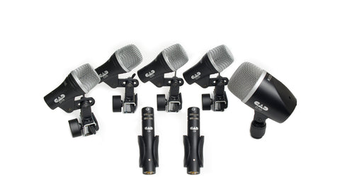 CAD Stage 7 Drum Microphone Pack