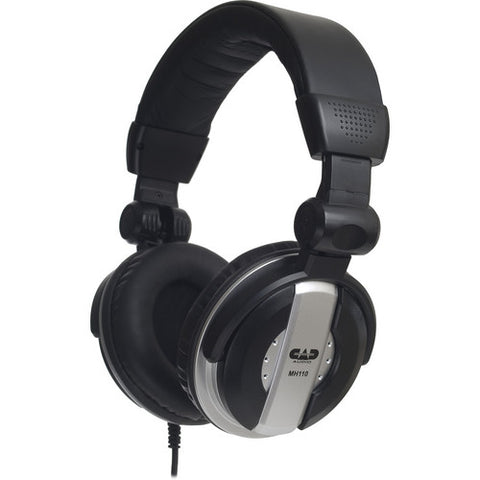 CAD Audio MH110 Closed-Back Around-Ear Studio Monitor Headphones