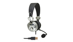CAD Audio U2 USB Stereo Headphones with Condenser Microphone