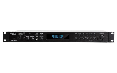 Denon DN-F350 Solid-State Media Player with Bluetooth/USB/SD/Aux Inputs
