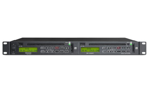 Denon DN-500DC Dual CD/Media Player with USB/SD Inputs and RS-232c