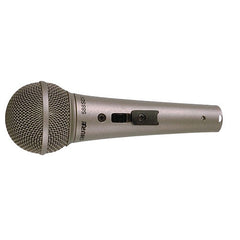 Shure 588SDX Cardioid Dynamic Microphone, High or Low Z (Plug Selectable), Locking On-Off Slide Switch