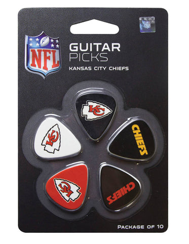 Woodrow Kansas City Chiefs Guitar Picks