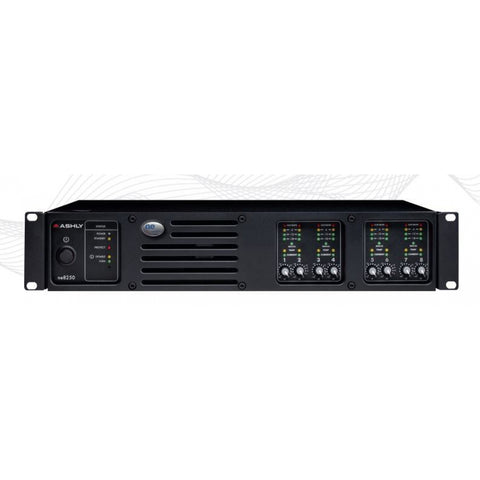 Ashly NE8250.70PE 8-Channel Network Amplifier with Protea DSP