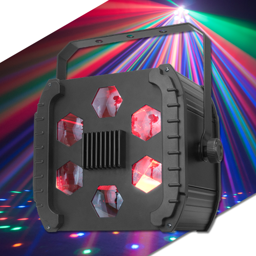 Eliminator Lighting LED Cloud Powerful DMX Effect Light