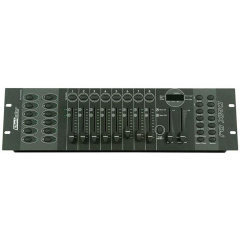 Eliminator Lighting DMX-DJ 12-Channel DMX DJ Controller - Black