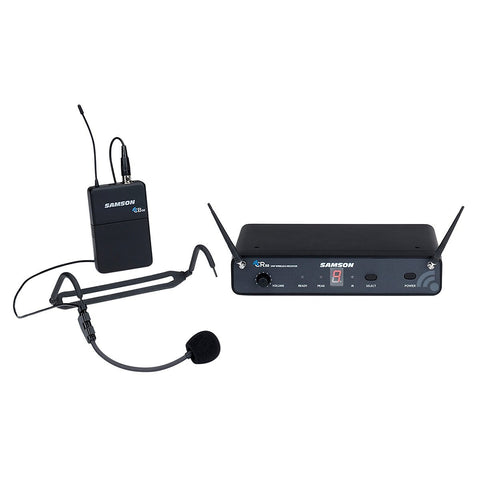 Samson Concert 88 SWC88BHS5-D 16-Channel True Diversity UHF Wireless Headset System (Channel D)
