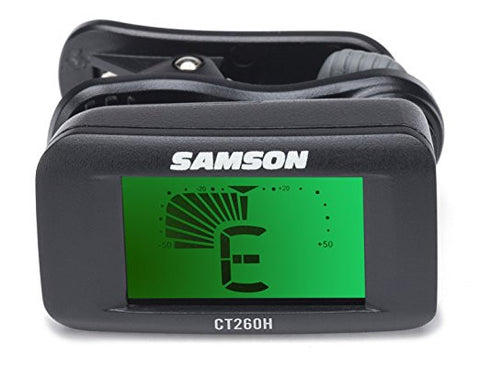 Samson SACT260H Clip-On Chromatic Tuner