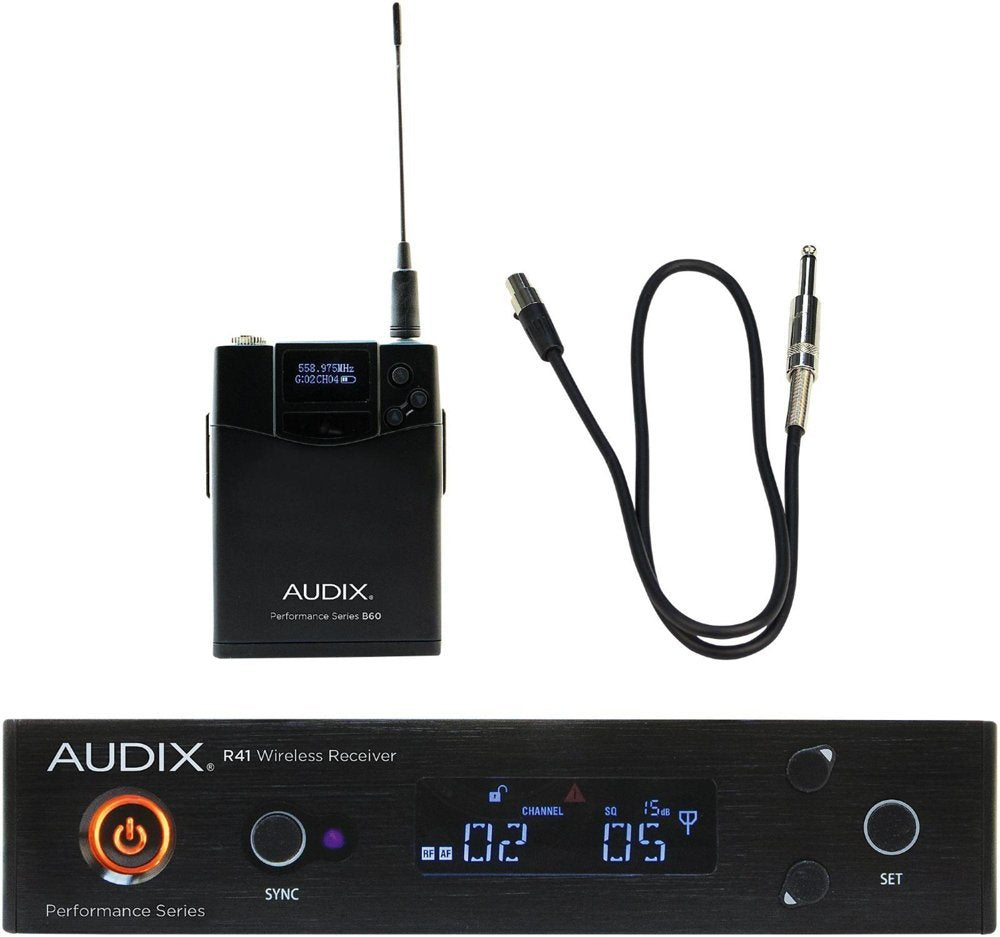Audix AP41 GUITAR Performance Series Single-Channel Guitar Wireless System