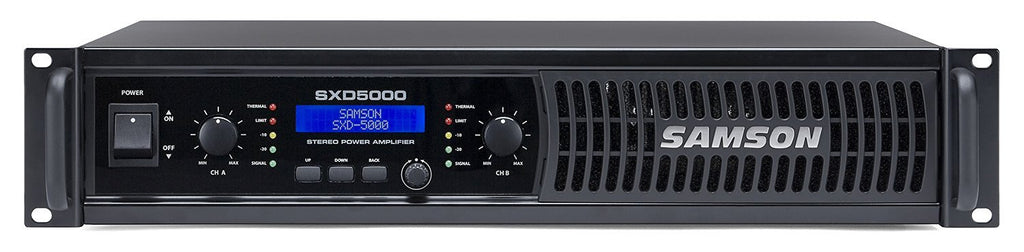 Samson SXD5000 Power Amplifier with DSP