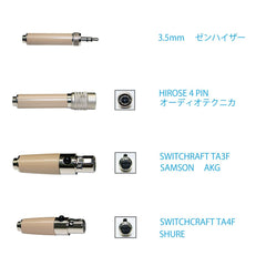 Samson SE10 Earset Microphone with Miniature Condenser Capsule (Tan)