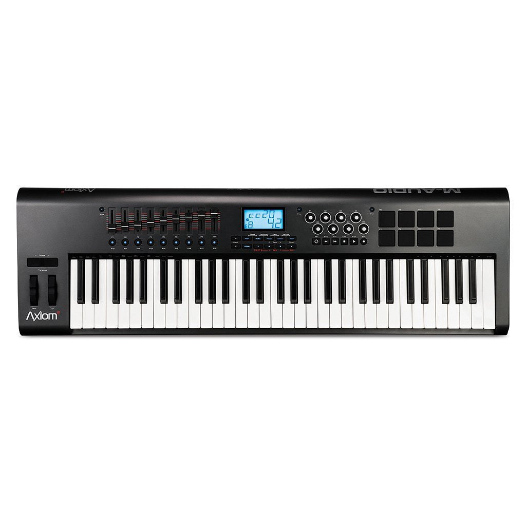 M-Audio AXIOM 61 Advanced 61-Key Semi-Weighted USB MIDI Controller