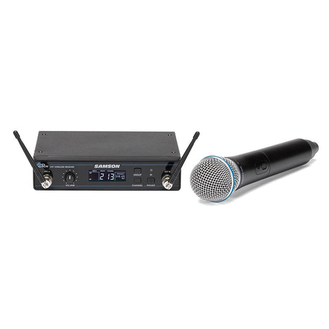 Samson Concert 99 Handheld Frequency-Agile UHF Wireless System with Q8 Dynamic Microphone (D Band)
