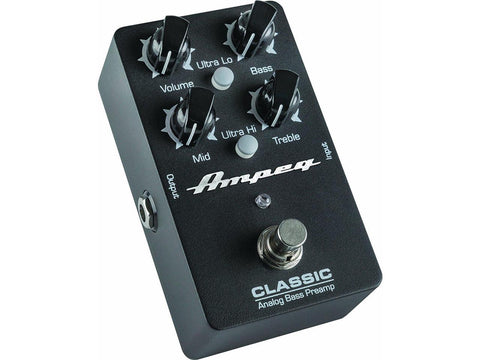 Ampeg Classic 9v DC Analog Bass Preamp Pedal