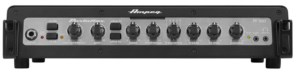 Ampeg PF500 Portaflex 500-Watt Bass Amplifier Head - Black