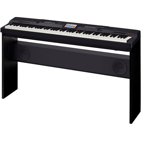 Casio CGP-700BK 88-Key Digital Grand Piano with Color Touch Screen Display