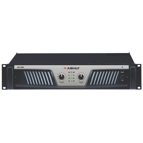 Ashly KLR-4000 2-Channel High-Performance Power Amplifier