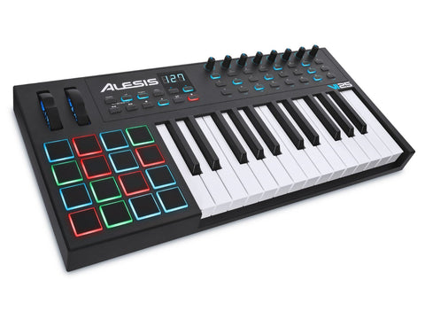 Alesis VI25 Advanced 25-Key USB MIDI Pad/Keyboard Controller