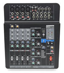 Samson Mixpad MXP124FX Compact, 12-Channel Analog Stereo Mixer