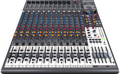 Behringer Xenyx X2442USB 24-Input 4/2-Bus Mixer with Xenyx Mic Preamps & Compressors/British EQs/24-Bit Multi-FX Processor and USB/Audio Interface