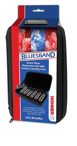 Hohner 1501/7 Blues Band, 7-Piece Harmonica Set