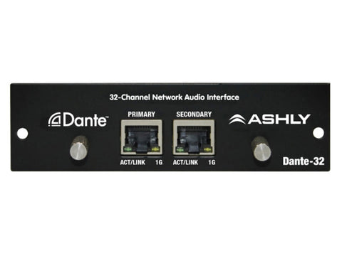 Ashly DANTE-32 32-Channel Network Audio Interface