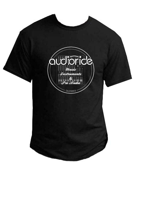 Audioride Mixer T-Shirt (Black) - Men's M - Audioride