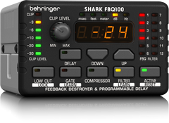 Behringer Shark FBQ100 Automatic Feedback Destroyer with Integrated Microphone Preamp/Delay Line/Noise Gate and Compressor