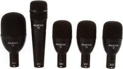 Audix FP5 5-Piece Fusion Drum Instrument Dynamic Microphone Package