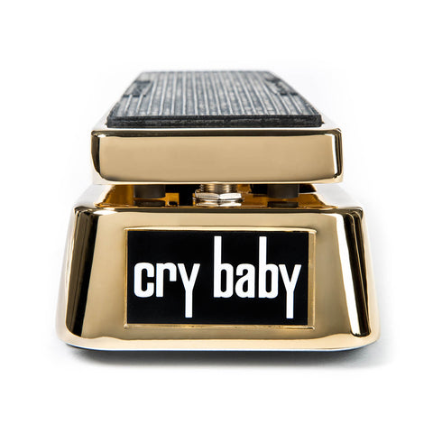Dunlop GCB95G 50th Anniversary Gold-Plated Cry Baby Wah Pedal