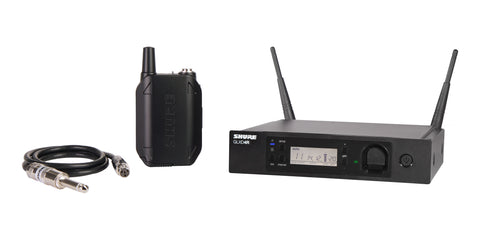 Shure GLXD14R-Z2 Guitar Wireless System with GLXD4R Rackmountable Receiver Band (Z2 Band: 2400-2483.5 MHz)