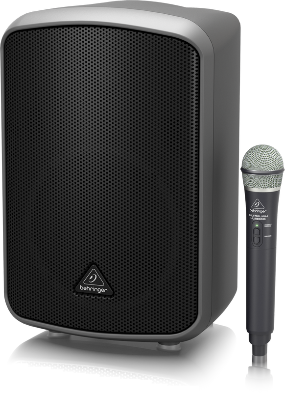 "Behringer Europort MPA200BT 8"" 200W Portable Bluetooth Speaker with Wireless Microphone"