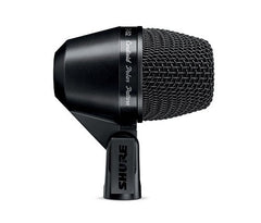 Shure PGA52-XLR Cardioid Swivel-Mount Dynamic Kick-Drum Microphone with 15' XLR-XLR Cable