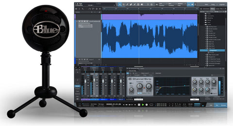 Blue Microphones Snowball Studio USB Microphone and Software Bundle
