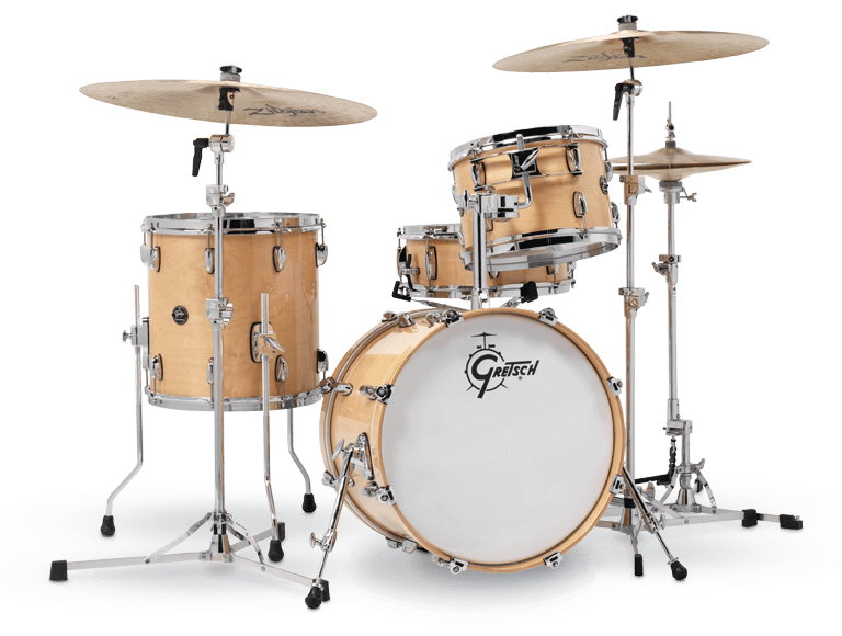 Gretsch RN2-J484-GN Renown 4-Piece Drum Set (18/12/14/14sn) - Gloss Natural