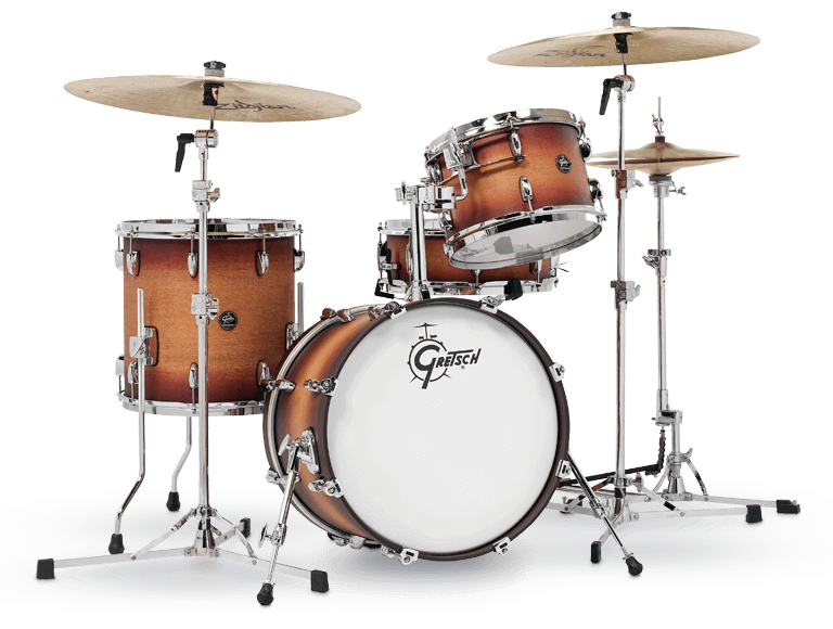 Gretsch RN2-J484-STB Renown 4-Piece Drum Set (18/12/14/14sn) - Satin Tobacco Burst