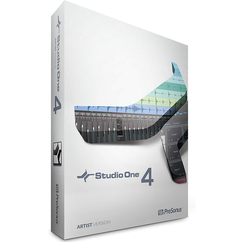 PreSonus S1ARTIST4 Studio One 4 Artist Edition Boxed Software